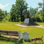 Старая Русса Памятник Достоевскому