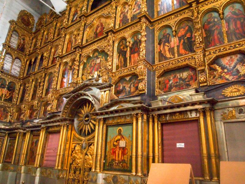 Иконостас Храм Казанского образа Божией Матери