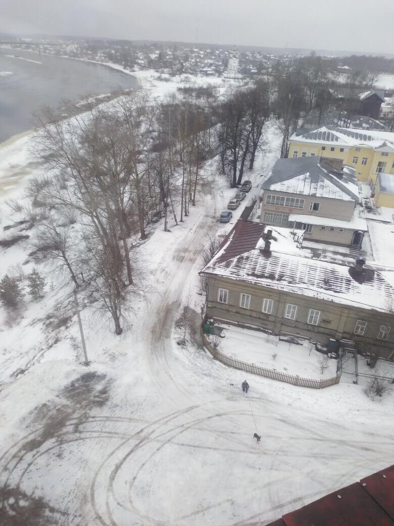 Вологодская область, Тотьма на январские праздники.