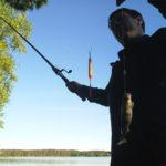 Рыбалка на озере Снетковское