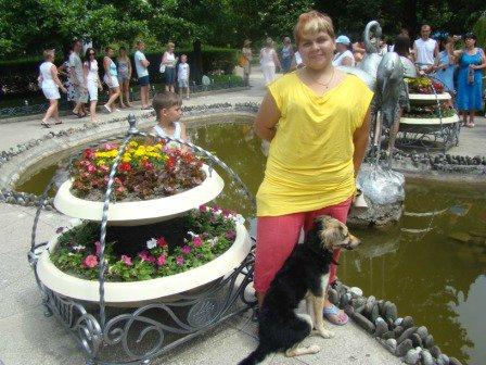 С собакой в Туапсе