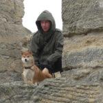 С собакой в Керчи
