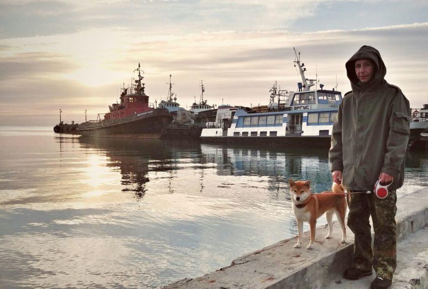 В Керчь с собакой