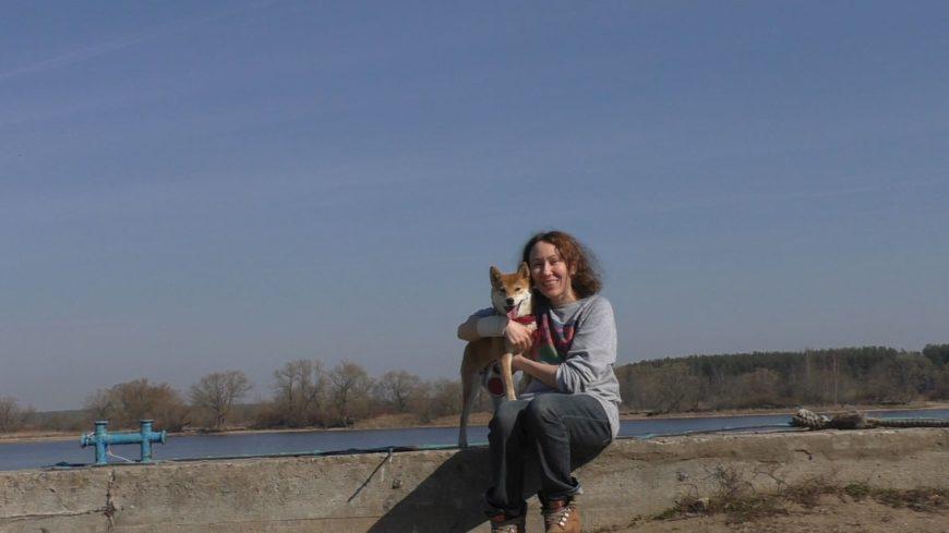 Новомелково с собакой