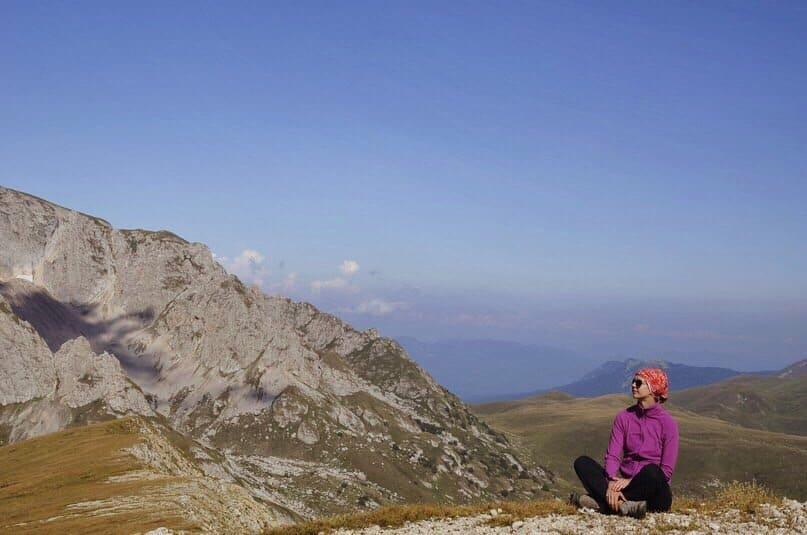 Первый поход с собакой в горы на Оштен (Адыгея)