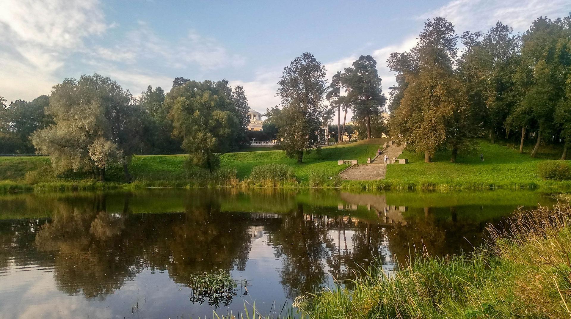 парк Мариенталь в Павловске