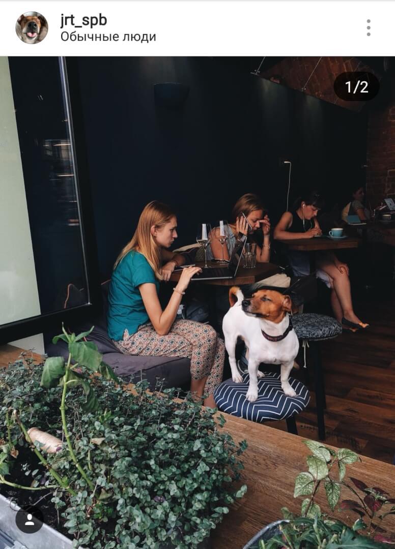 Обычные люди на Рыбацкая ул.,  4 (Кафе)