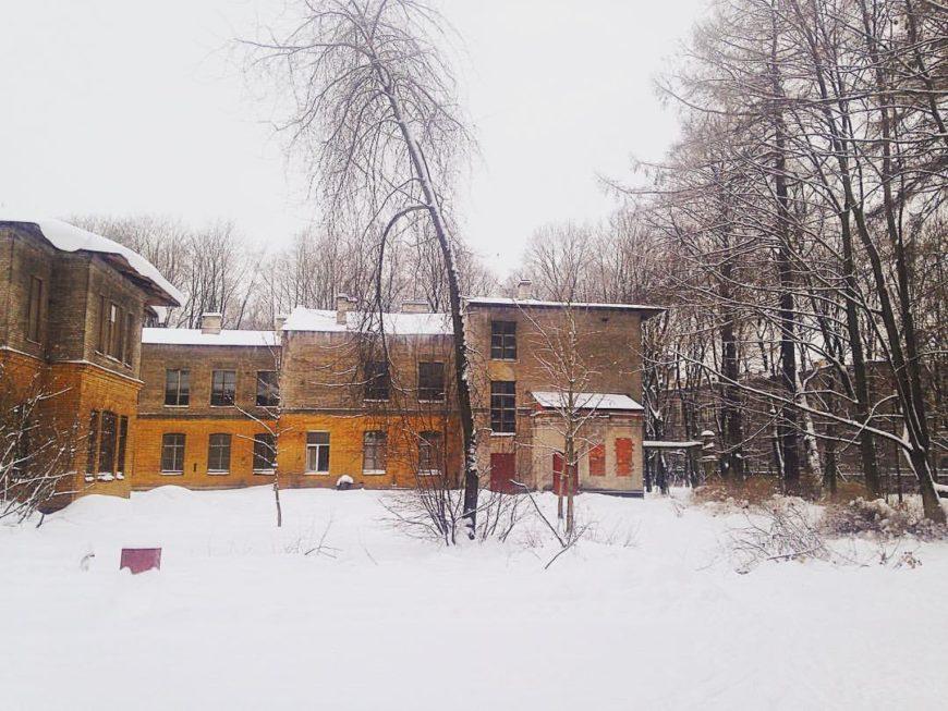 парк Лесотехнической Академии на Ботанический сад ЛТУ, Институтский пер. (Парки)