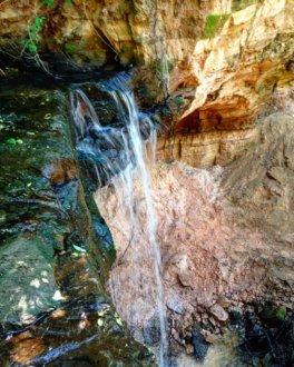 Горчаковщинский водопад на Unnamed Road,  Горчаковщина (Достопримечательности)