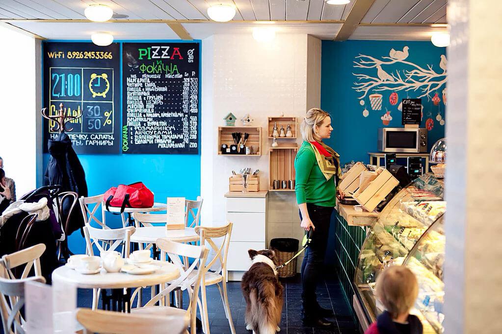 Голубка на Большая Пироговская ул.,  53 (Рестораны)