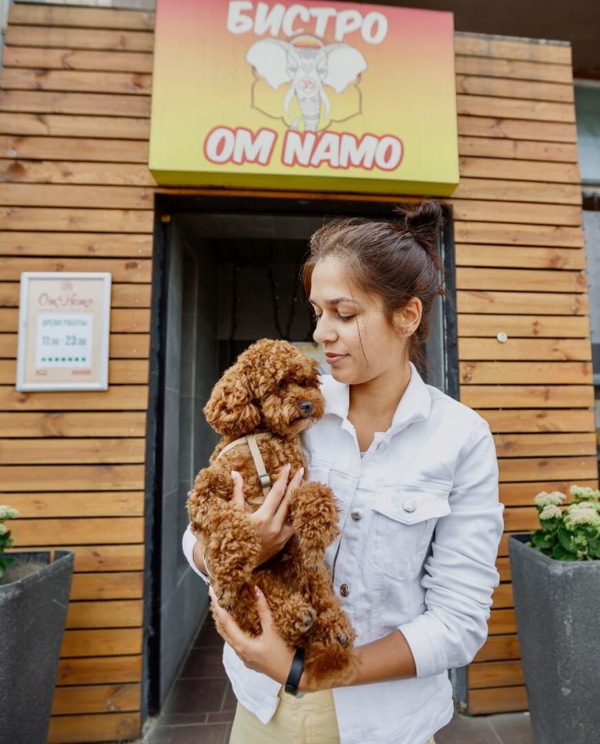 Ом Намо на ул. Веры Хоружей 13,  Минск (Кафе)