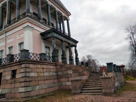 Луговой парк, Бельведер и каналы Петергофа