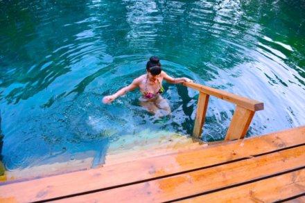 Голубые озера на  (Озёра и карьеры)