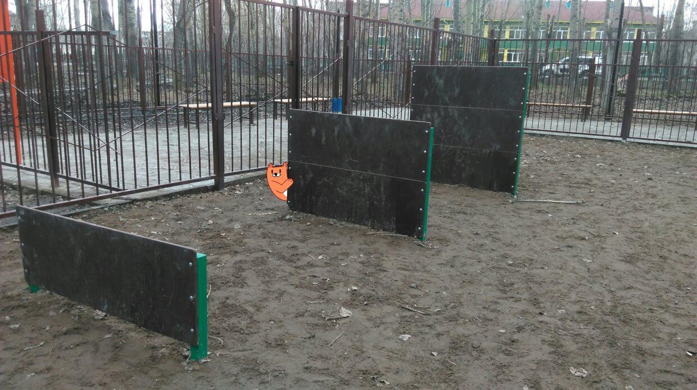 парка Победы на 38а,  Ачинск (Площадки для собак)