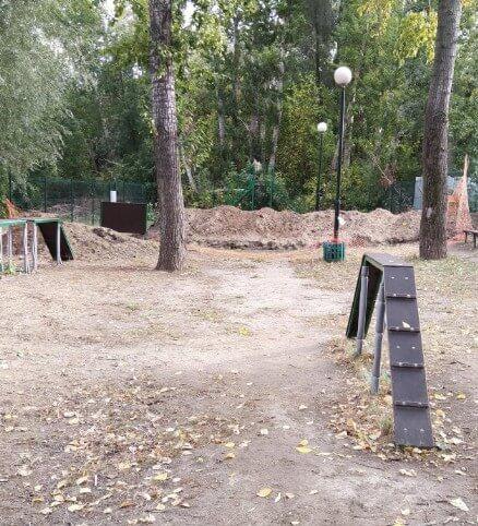 Площадка для собак Приволжского района на ул. Карима Тинчурина, 27А (Площадки для собак)