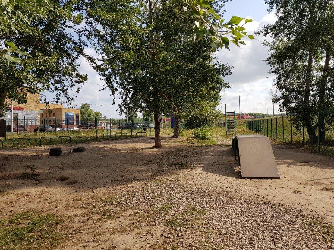Ново-Савиновского района на ул. Гаврилова,  23 (Площадки для собак)