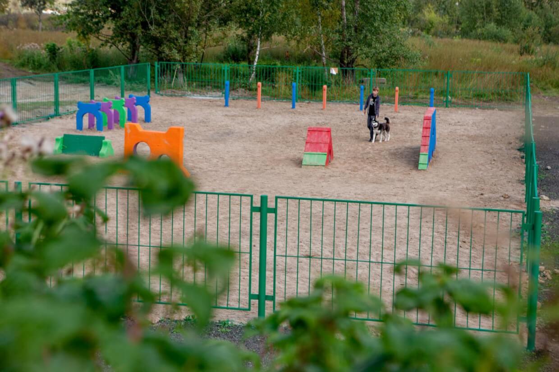 на Сибирской на Сибирская ул.,  116,  Томск (Площадки для собак)