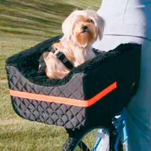 Корзина для собак на велосипед Snoozer Rear Dog Bike Basket