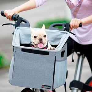 Корзина для собак на велосипед Barkbay Pet Carrier Bike Basket