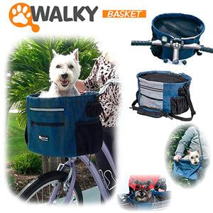 Корзина для собак на велосипед Walky Basket Dog Bike Carrier