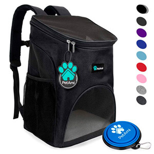 Рюкзак для переноски собак PetAmi Pet Carrier Backpack for Small Cats and Dogs