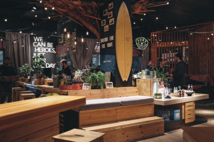 Surf Coffee на улица Медовея,  Эстосадок (Кафе)