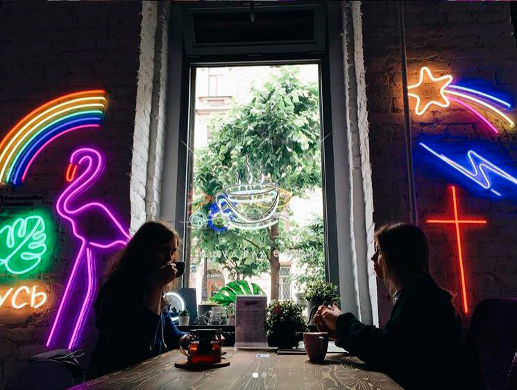 NeonCoffee на Пушкинская ул.,  13 (Кафе)