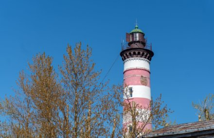 Шепелевский маяк на Unnamed Road,  Ленинградская обл. (Достопримечательности)
