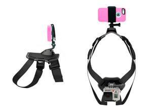 Крепление для видео- и экшн камер, смартфона, телефона на спину собаке