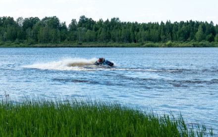 Водный мотоцикл, аквабайк на Орлинском озере
