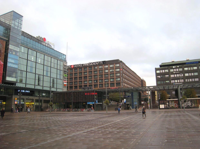 Kamppi Shopping Centre на Urho Kekkosen katu 1,  00100 Helsinki,  Финляндия (Магазины)