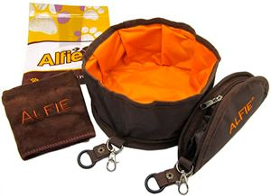 Миска для собак Fabric Expandable/Collapsible Travel Bowl by Alfie Pet