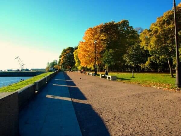 Петровский парк в Кронштадте