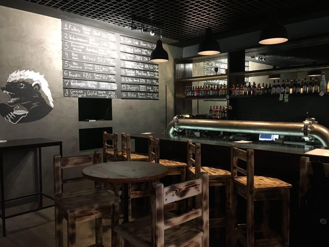 Honey Badger Bar на ул. Жуковского,  17 (Бары)