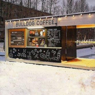 "Кафе ""Bulldog Coffee"""