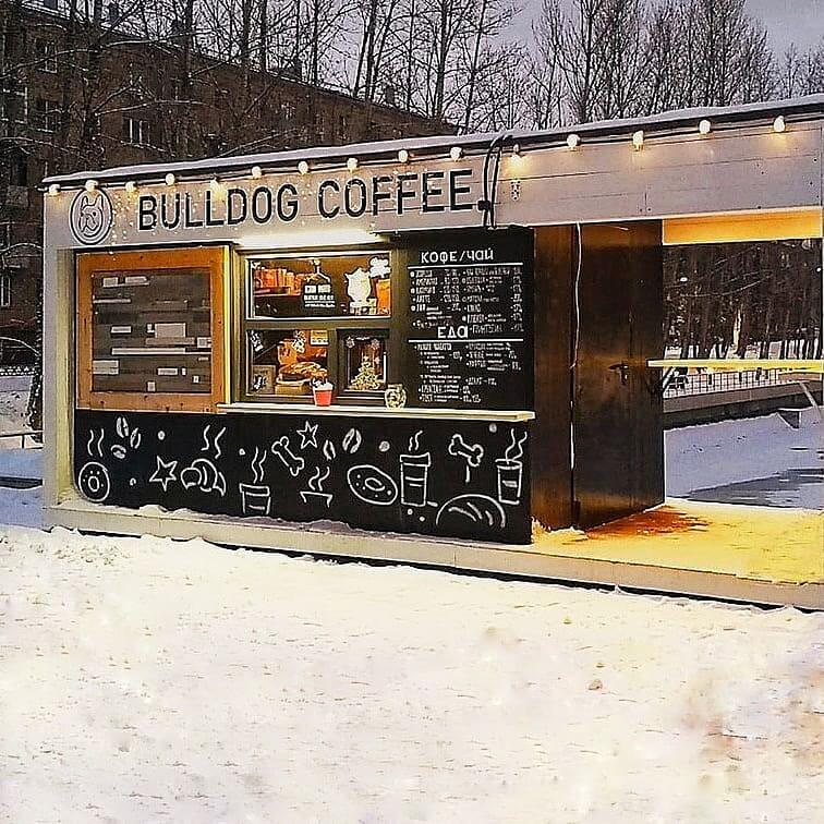 Bulldog Coffee на Москва,  Красногвардейские (Кафе)