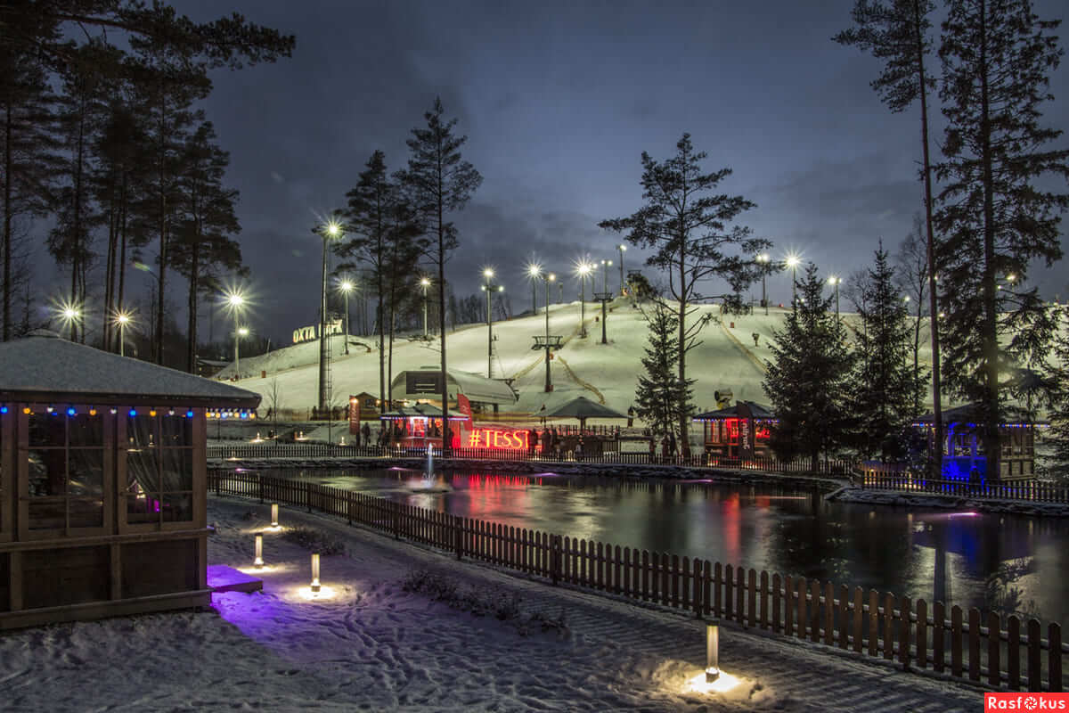 Горнолыжный комплекс «Охта Парк» на Unnamed Road,  Ленинградская обл. (Парки)