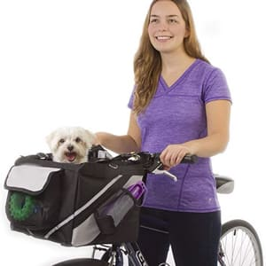 Сумка-переноска для домашних животных на велосипед