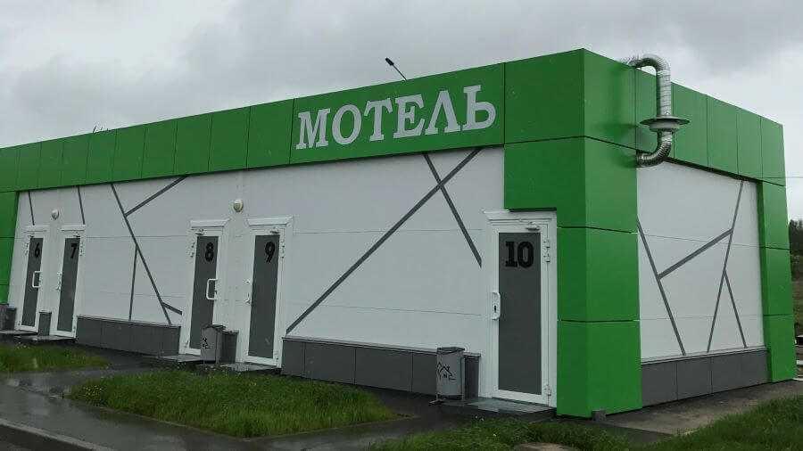 Зелёная стоянка на М7,  491,  Лысково (Отели)